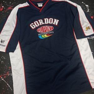 Jeff Gordon vintage Dupont soccer jersey NASCAR